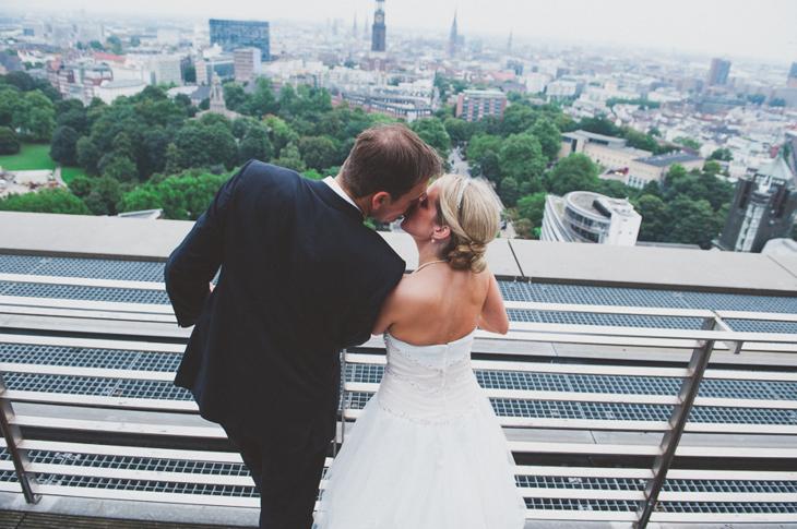 Hochzeit in Hamburg Elbpanorama