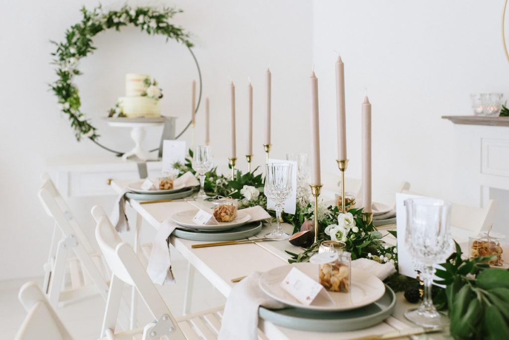 Tischdekoration Hochzeit Elegant