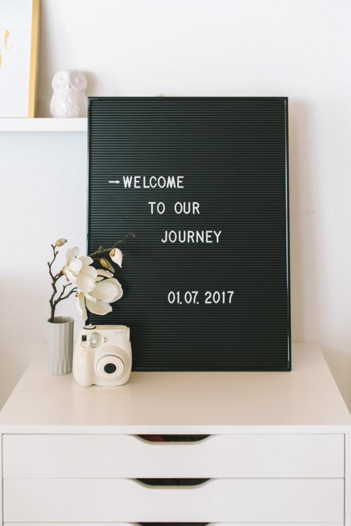 Trendprodukt: Letterboard