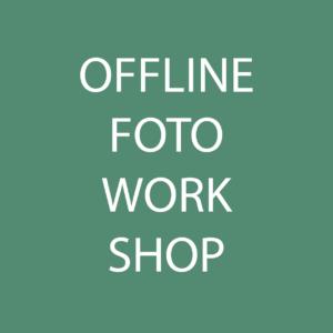 Offline Foto Workshop Produktfotografie