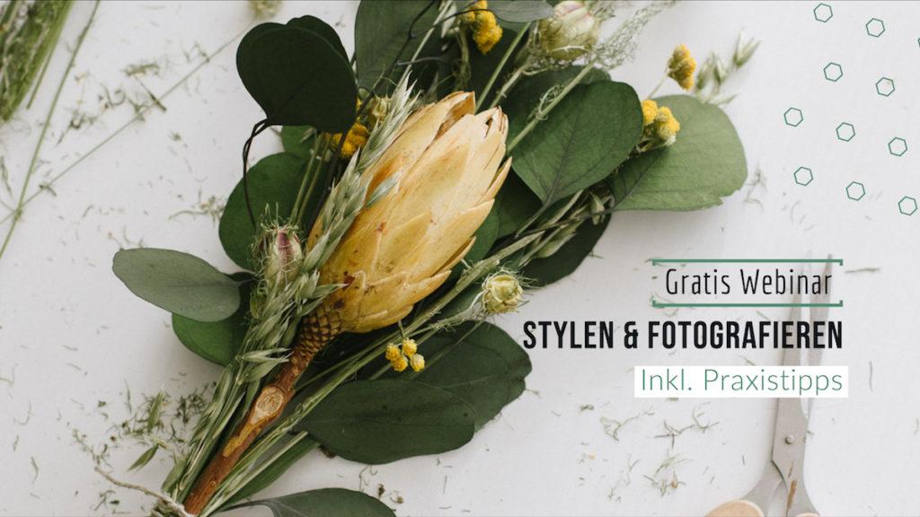 Webinar Stylen & Fotografieren