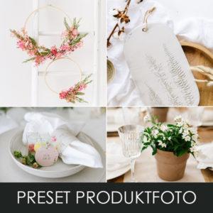 Produktbild Preset Produktfoto